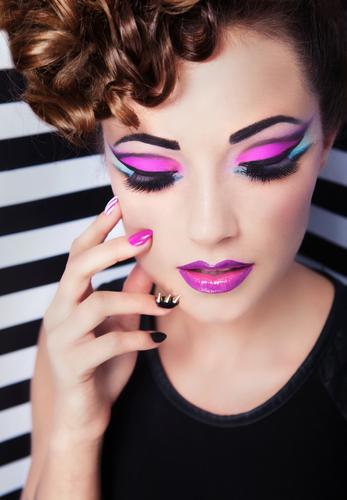 Funky Makeup Christopher Noland